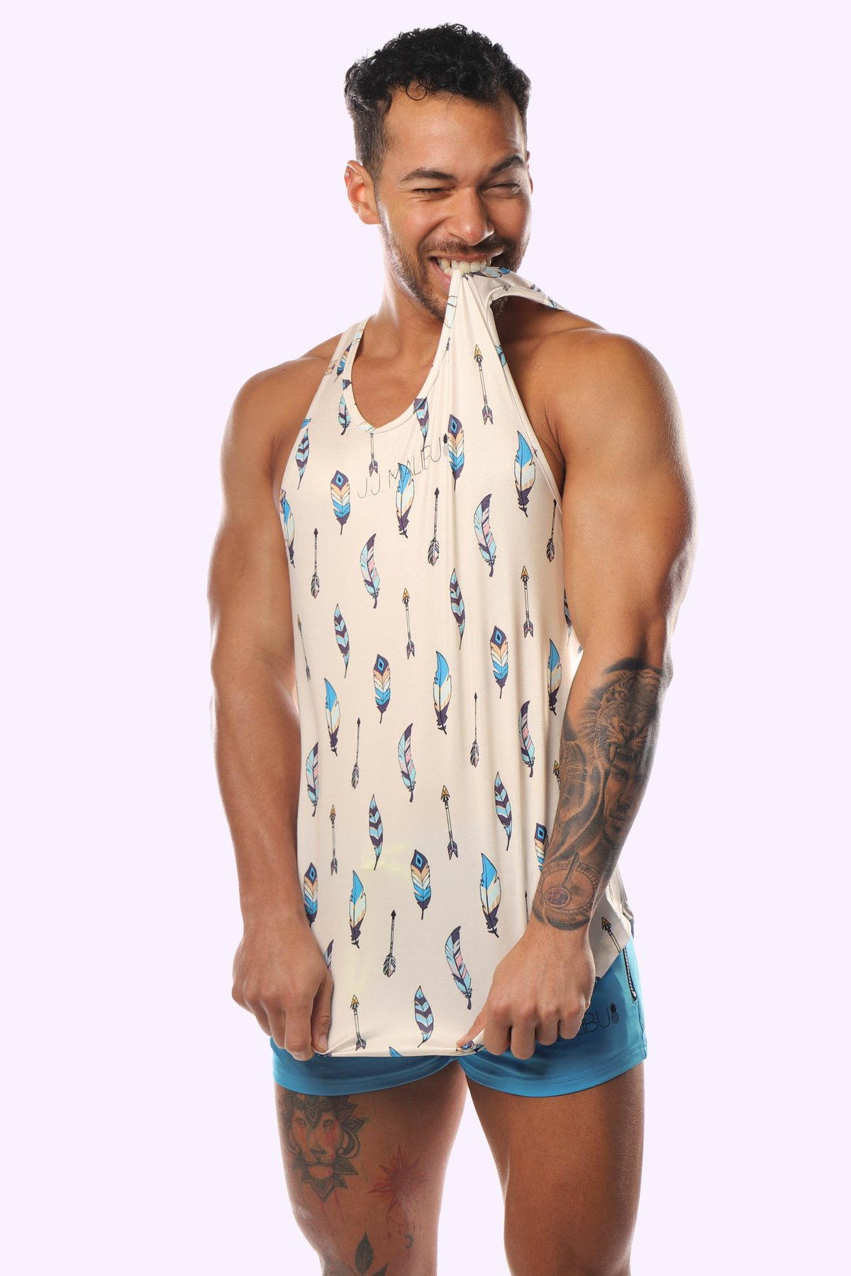 "JJ MALIBU ""LIGHT AS A FEATHER"" TANK TOP"