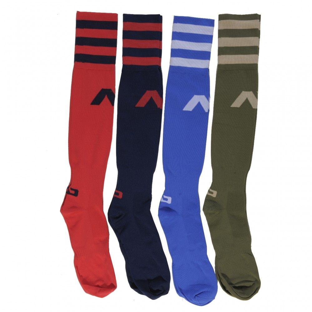 ADDICTED BASIC KNEE-LENGTH SOCKS - Kaki
