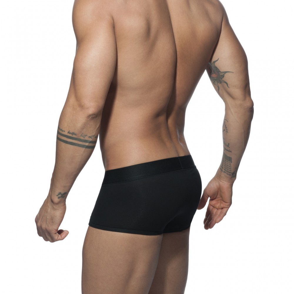 ADDICTED VELVET COMBI BOXER - Black