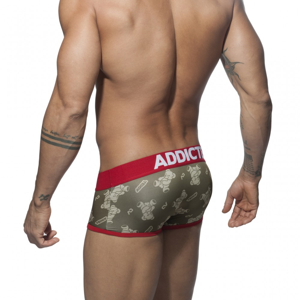 ADDICTED TEDDY BOXER - Red